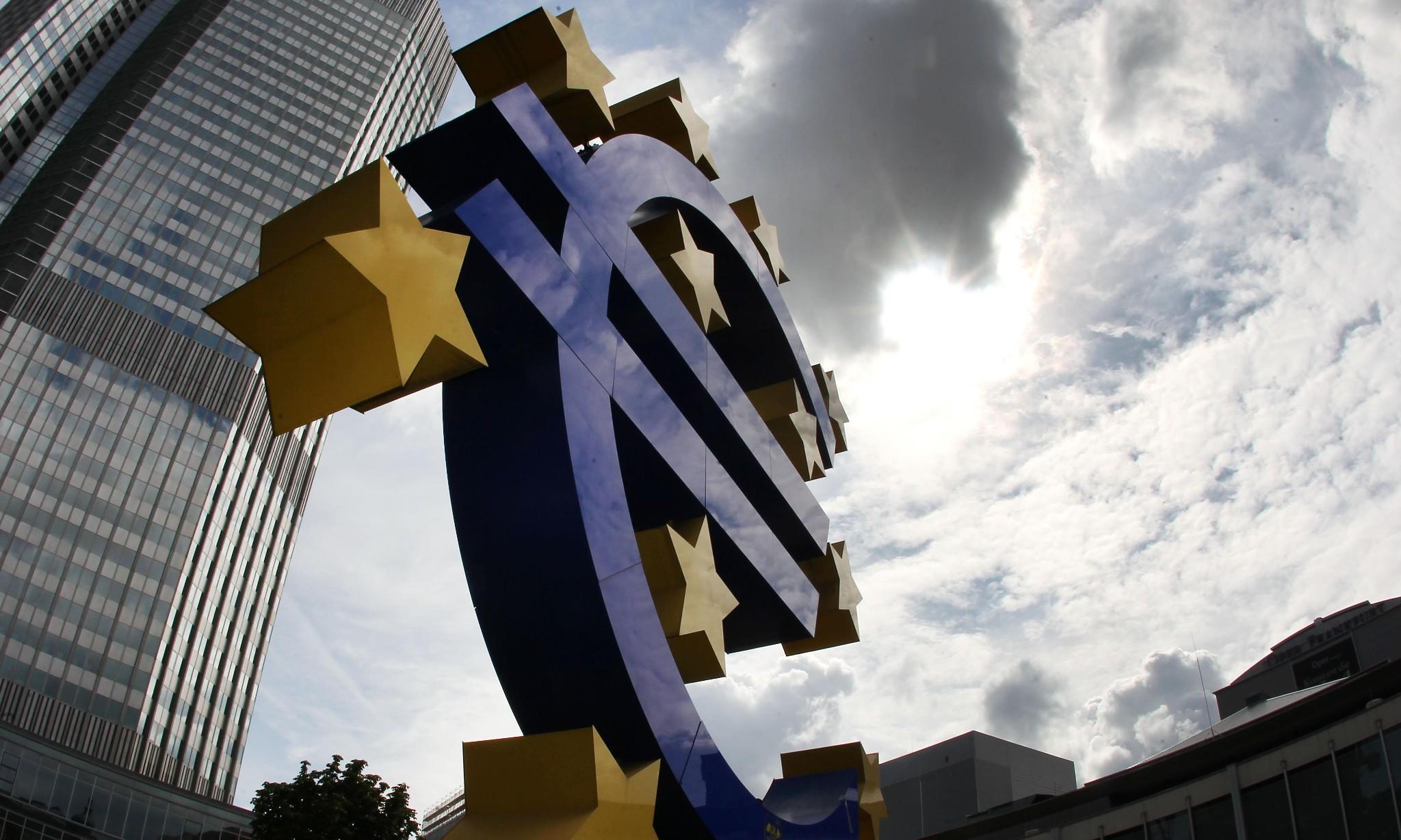 Eurozone economy grows twice as fast as UK's, figures show