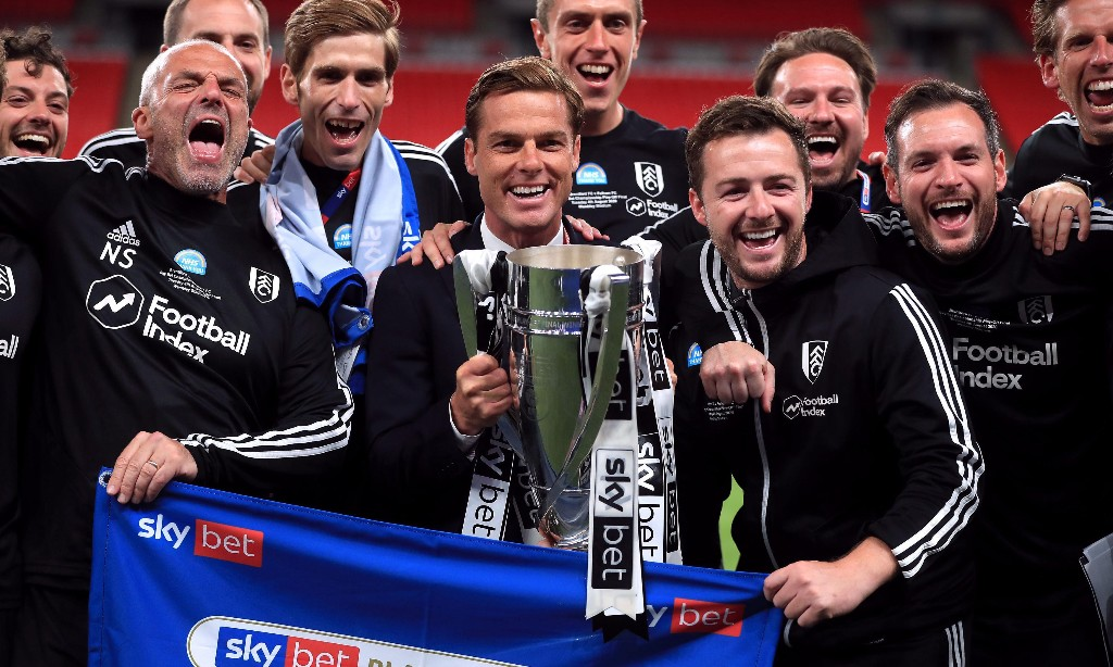 Scott Parker warns against 'drastic changes' after Fulham's play-off win