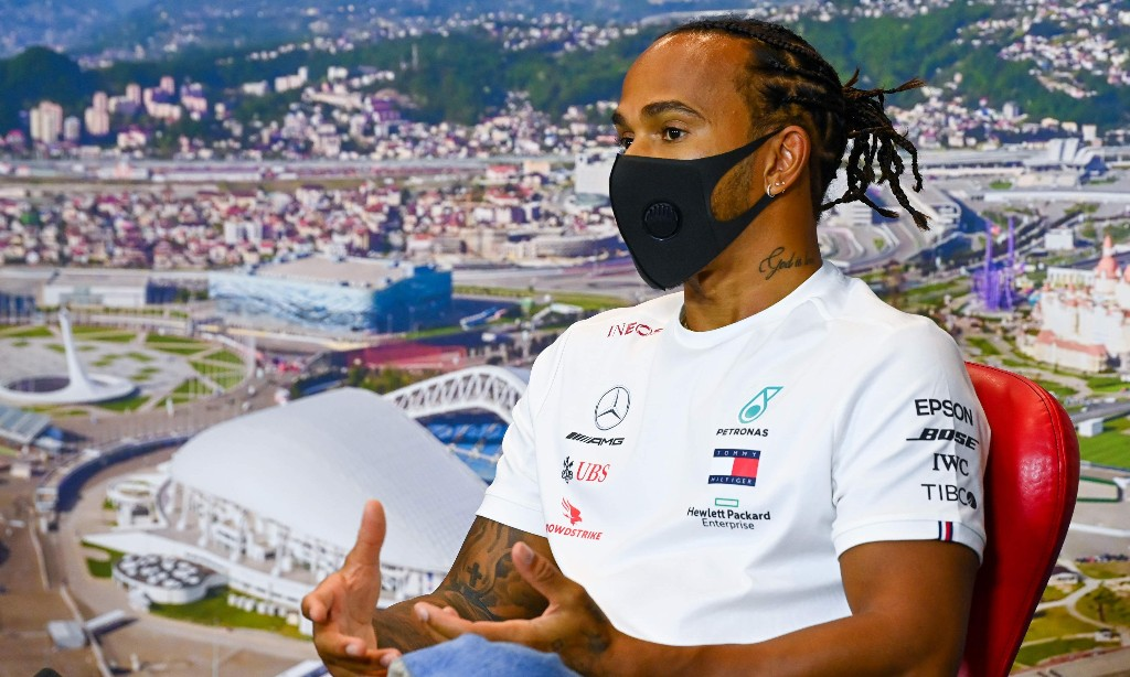 Lewis Hamilton says BLM protest is human rights issue, not about politics
