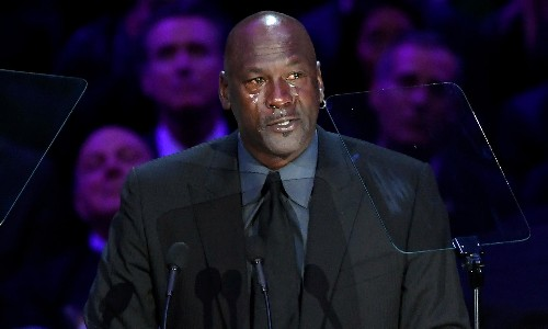 Tearful Michael Jordan pays tribute to 'brother' Kobe Bryant at memorial service