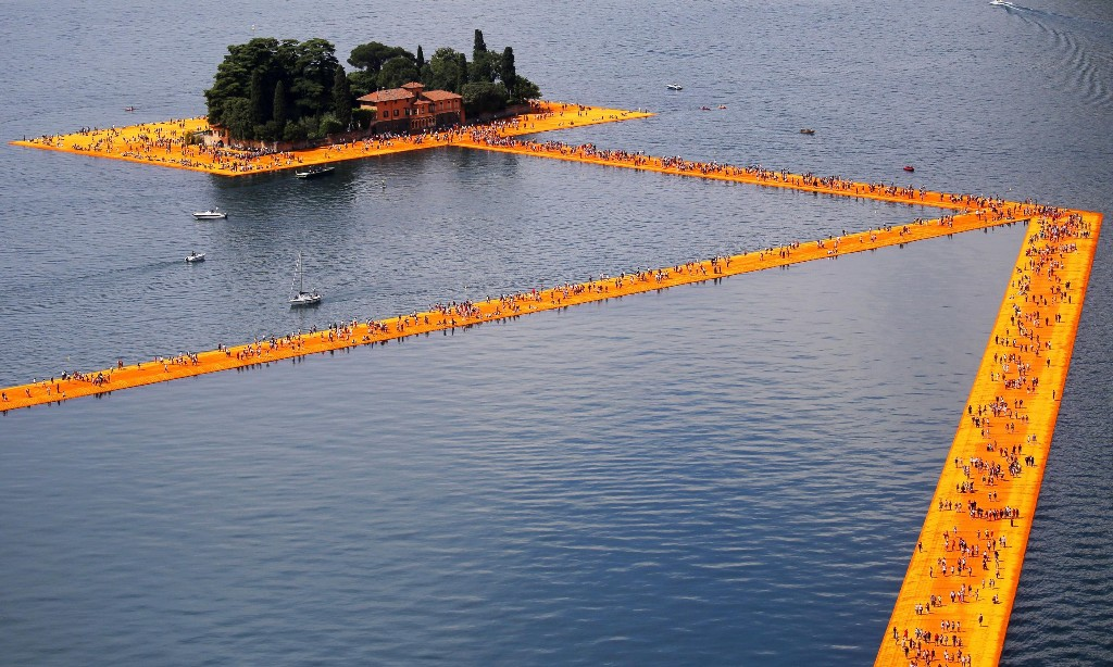 Christo: 'His gorgeous abstractions made you gawp with disbelief'