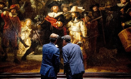 'Like a military operation': restoration of Rembrandt's Night Watch begins