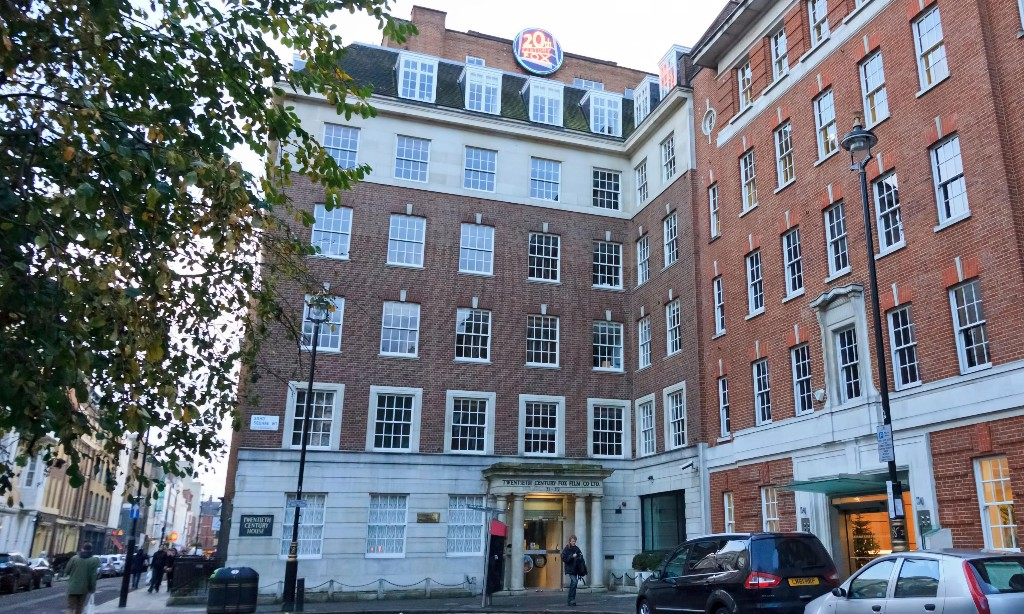 Landmark 20th Century Fox building in London facing new threat
