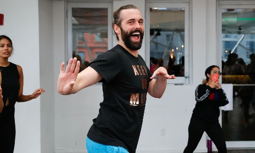 'Friendly and gentle and sweet': how Jonathan Van Ness became my quarantine coach