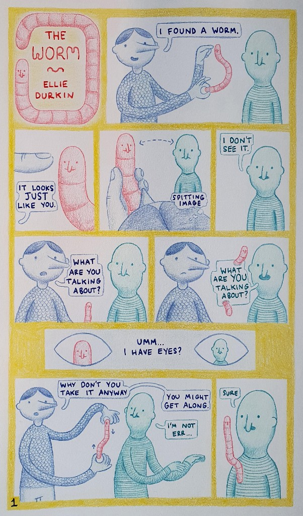 Graphic short story: The Worm