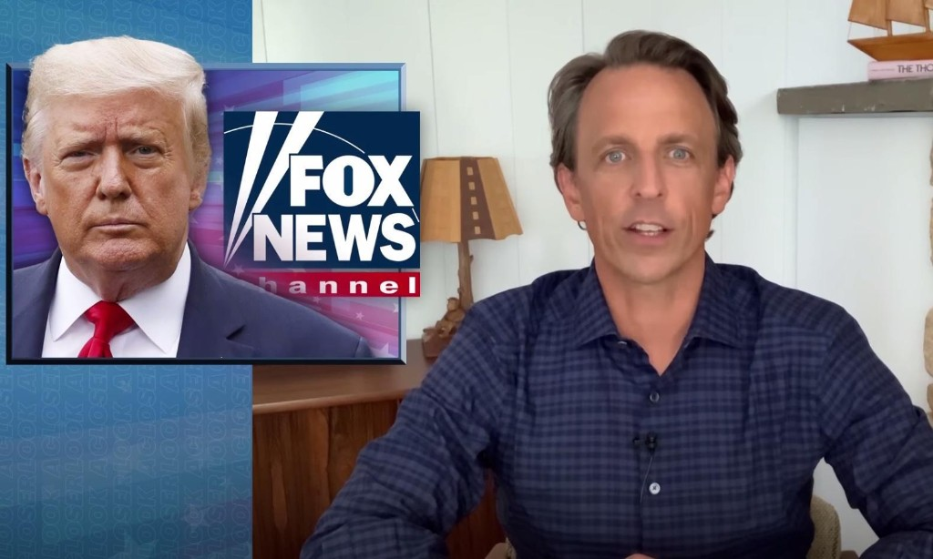 Seth Meyers: Fox News will let Trump 'get away with any lie'