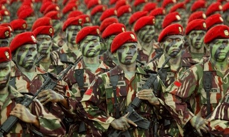 Indonesian military insists on virginity tests to determine 'naughty' female recruits