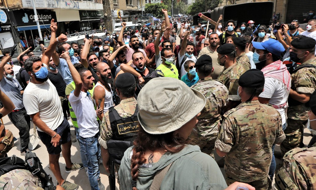 'Moment of reckoning': angry Lebanese vow not to let leaders off the hook