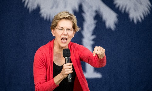 Elizabeth Warren hits back at Biden 'angry' criticism: 'I am angry and I own it'