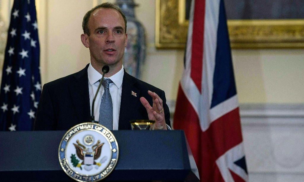 Dominic Raab's bodyguard suspended after reportedly leaving gun on plane