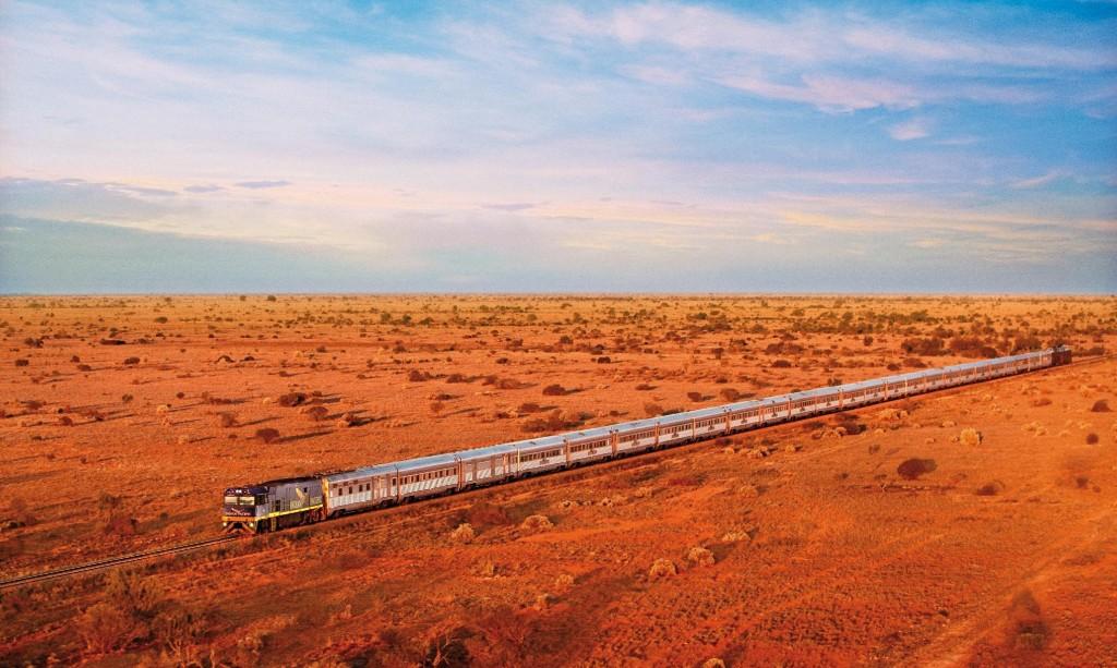 Australia travel - Magazine cover