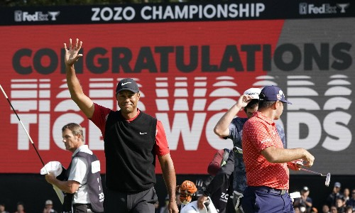 Tiger Woods equals Sam Snead's PGA Tour record with 82nd title