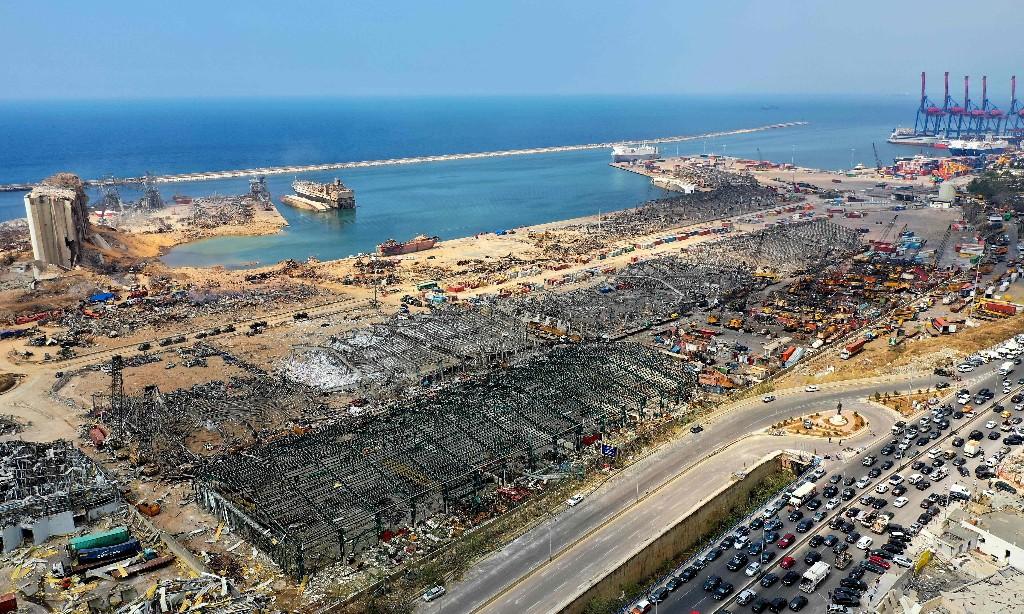 Beirut explosion: former port worker says fireworks stored in hangar