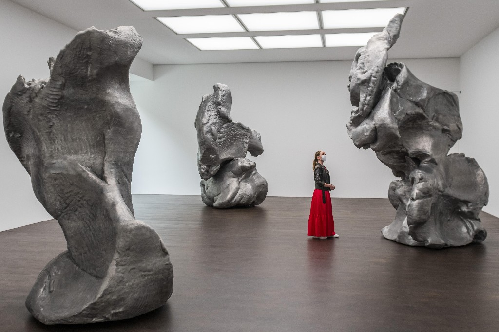 Monumental metal for the art-starved as London's commercial galleries reopen – the week in art
