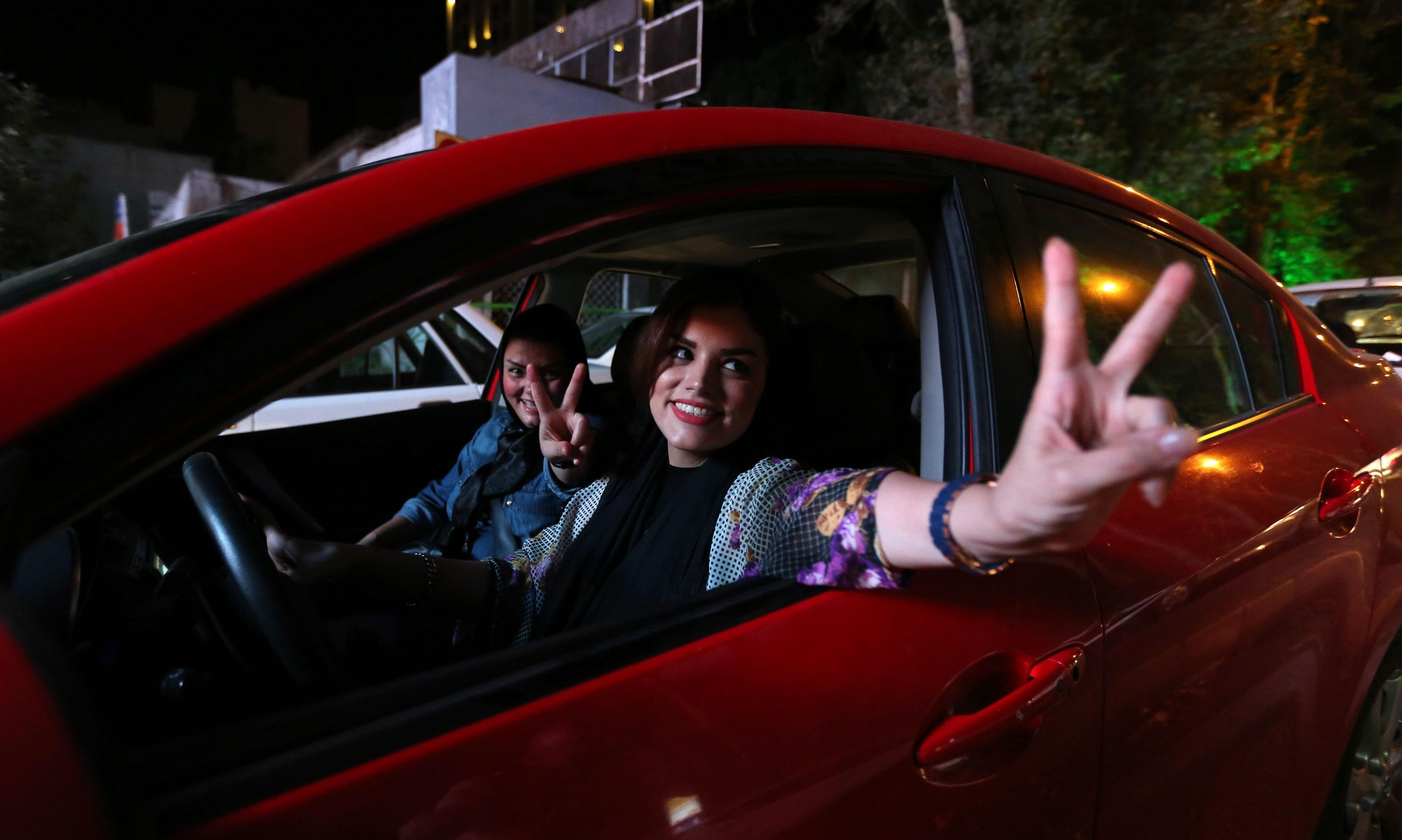 Iranian women spark debate by defying hijab rule in cars