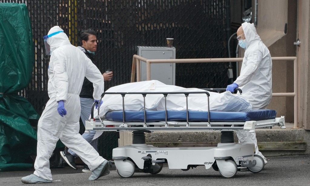 Trump administration cut pandemic early warning program in September