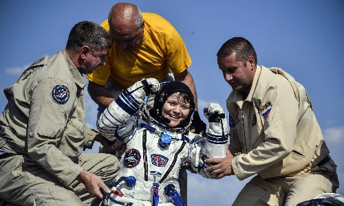 Nasa astronaut 'accessed ex-partner's bank account from space station'
