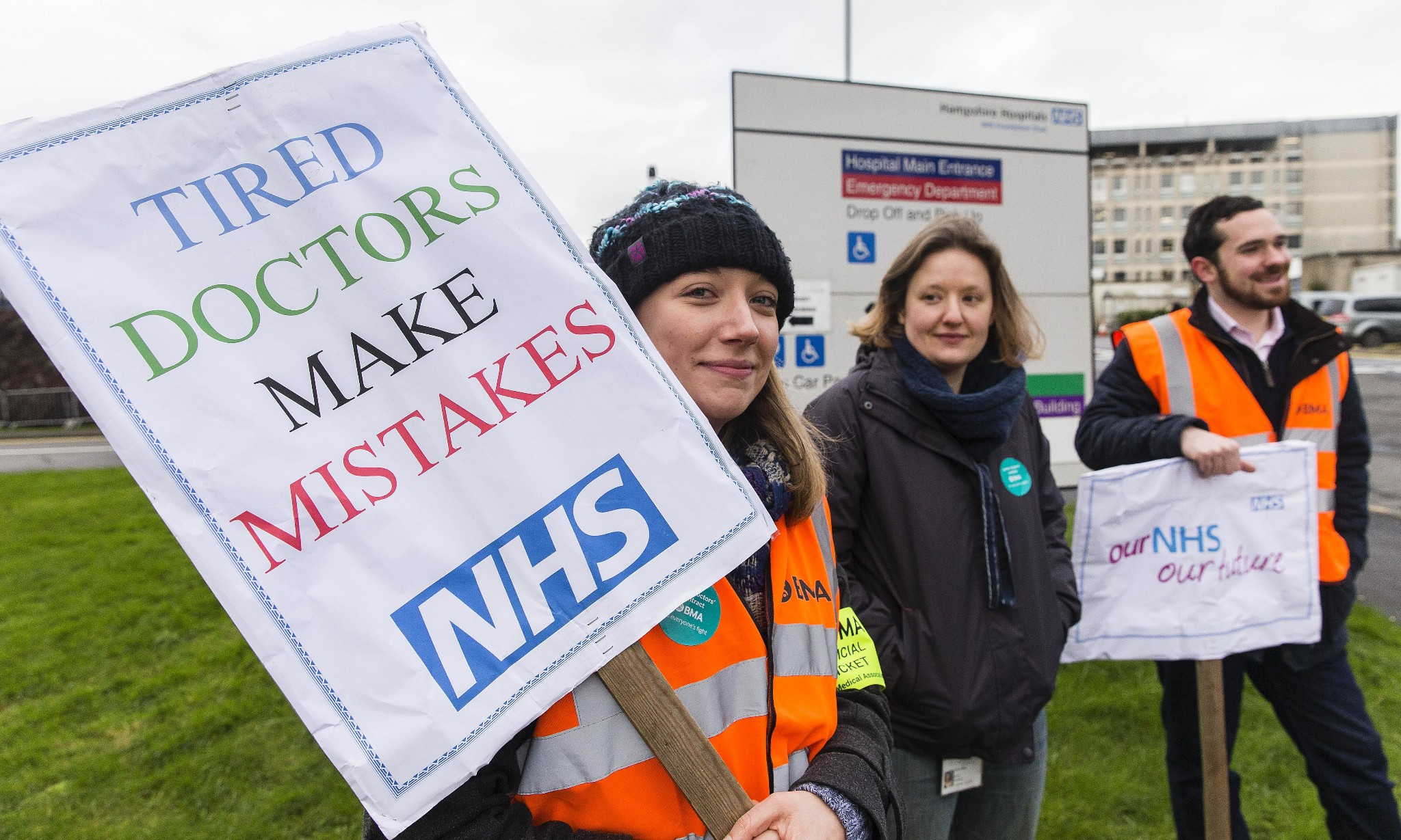 NHS Providers supports imposition of new junior doctor contracts