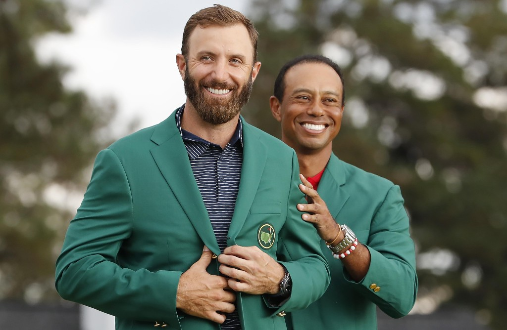 Dustin Johnson realises Masters dream with caddie brother at his side