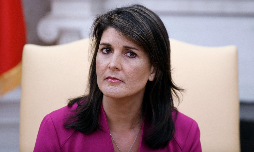 Nikki Haley has gotten where she is by embracing oppression, not fighting it
