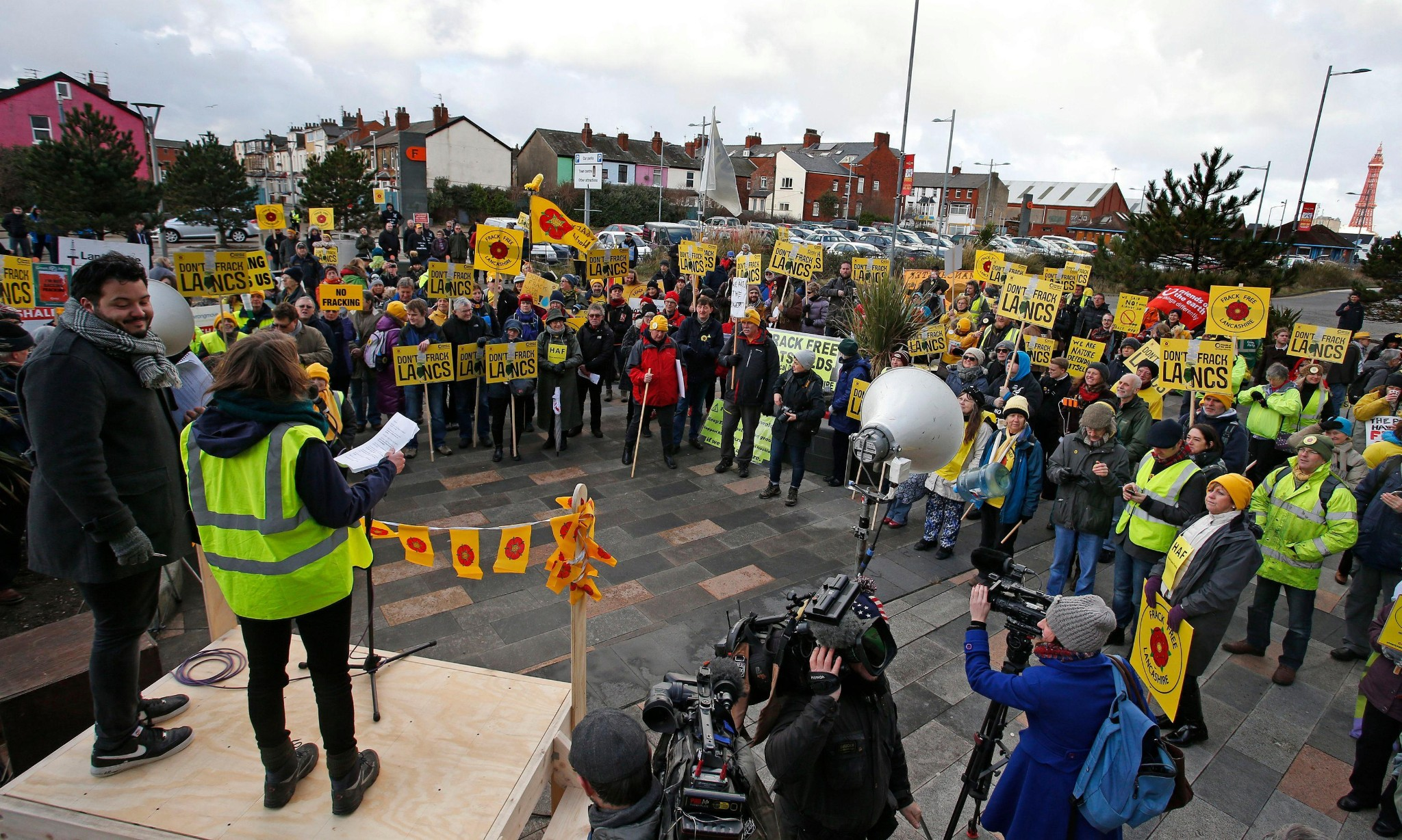 No Fracking In Lancashire - cover