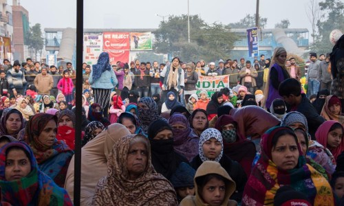 'Modi is afraid': women take lead in India's citizenship protests