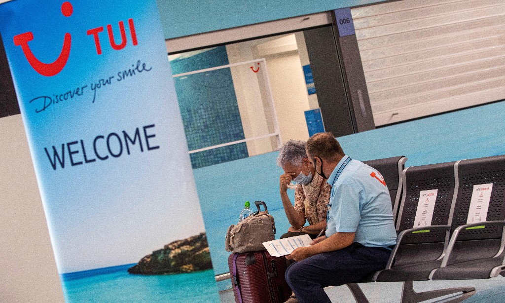 Holiday firm Tui cuts winter schedule amid 83% fall in bookings
