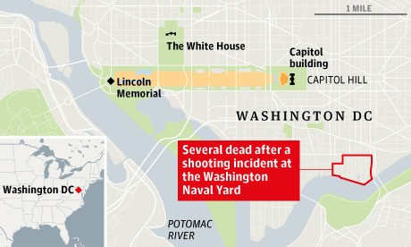 Navy Yard Shooting - Magazine cover