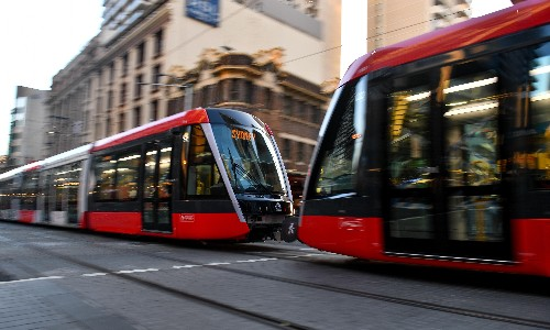 Sydney light rail network breaks down on first official day of operation