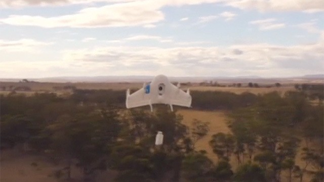 Google reveals home delivery drone program Project Wing