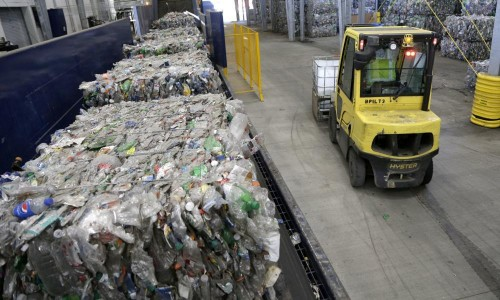 America's 'recycled' plastic waste is clogging landfills, survey finds