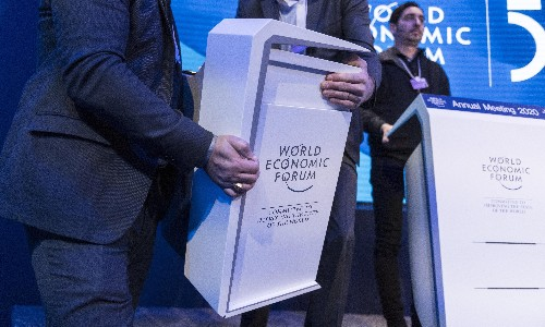 We can't trust the billionaires of Davos to solve a climate crisis they created