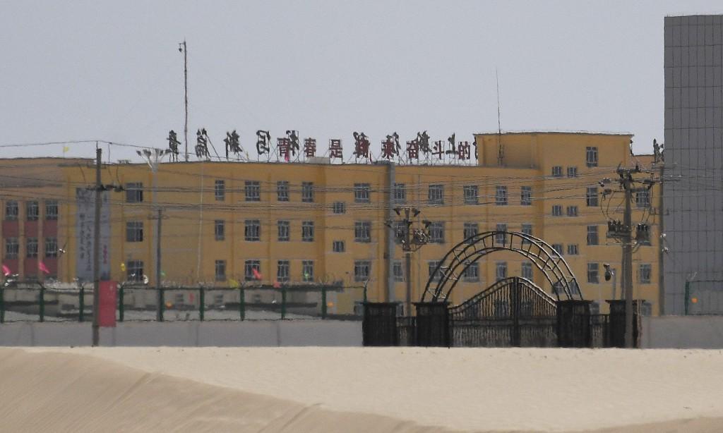 Secret footage shows Uighur man's detention inside Chinese prison