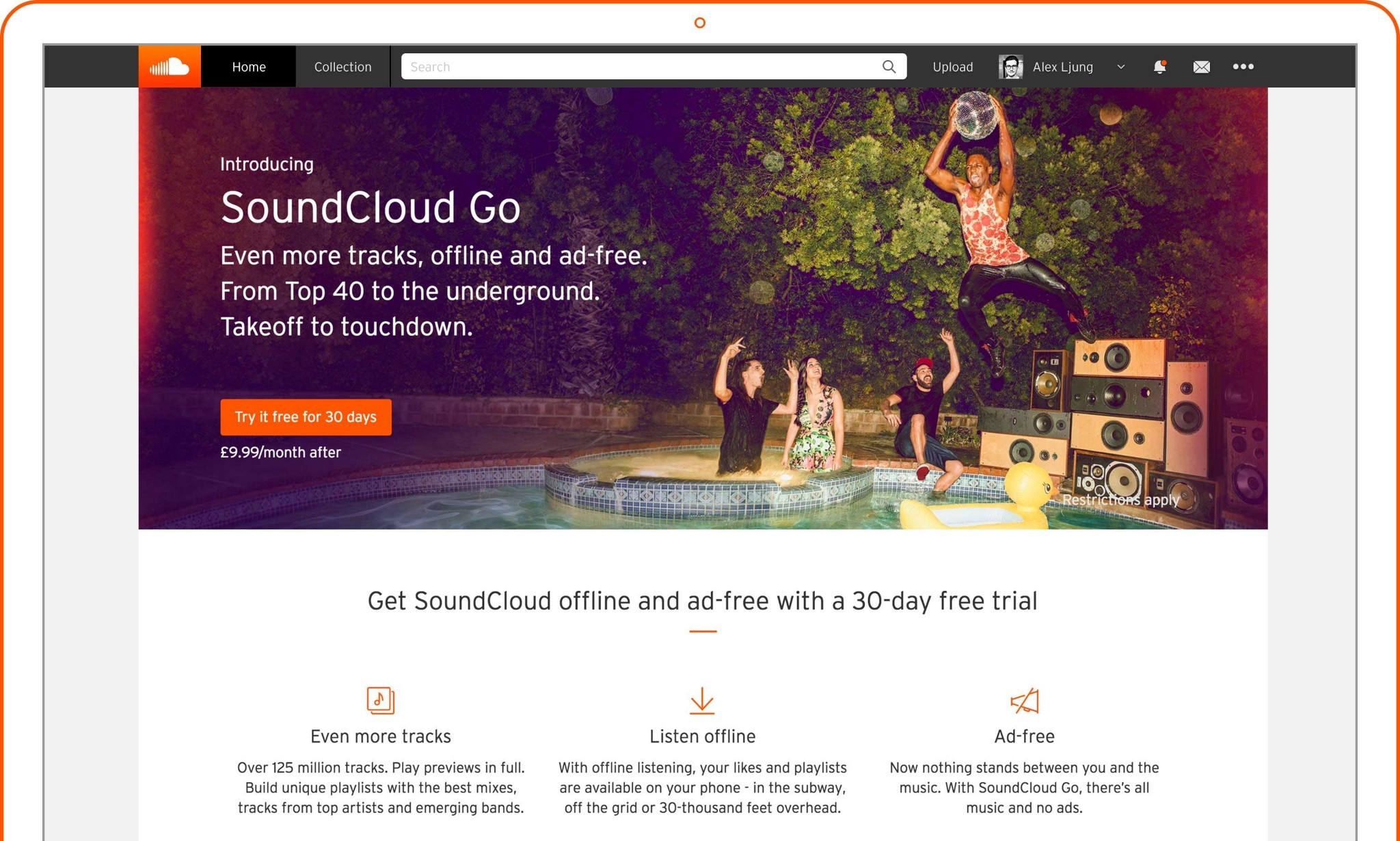SoundCloud Go subscription music service launches in UK and Ireland