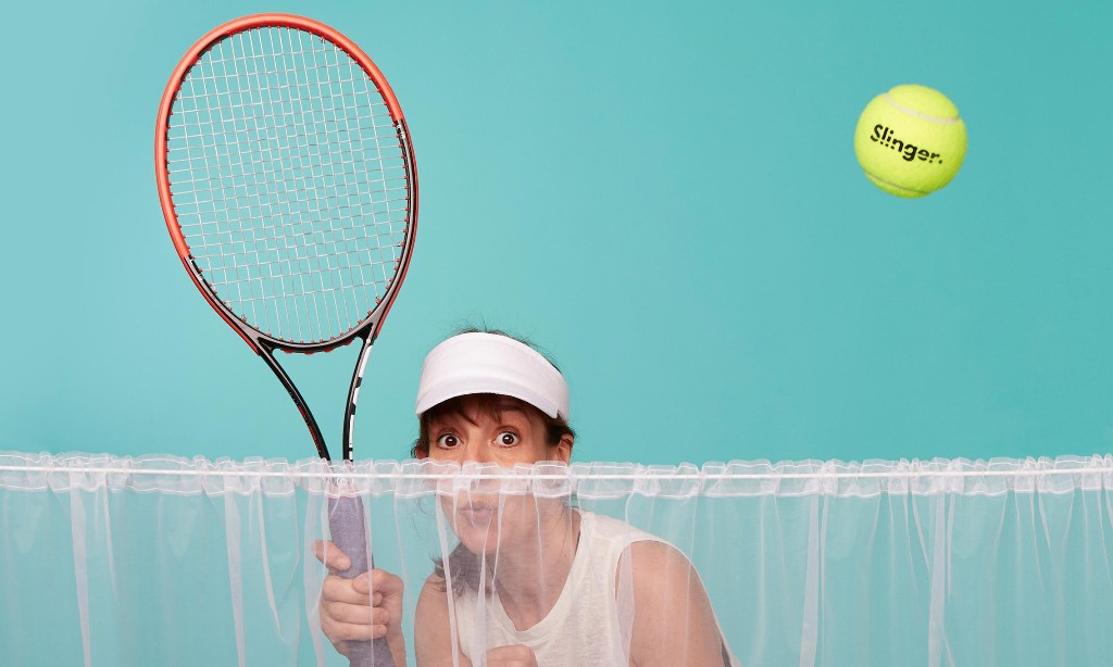 Fit in my 40s: this tennis ball launcher's got me running like a jackrabbit