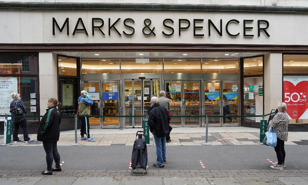 Marks & Spencer to cut 950 jobs in latest Covid-19 blow to high street