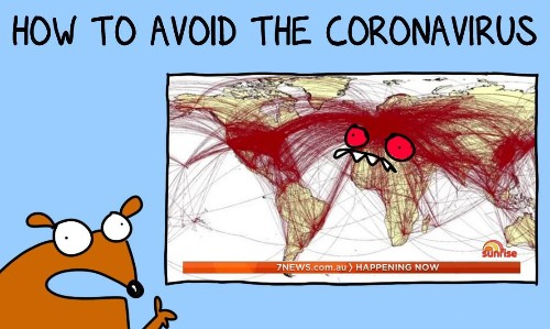 Coronavirus is very bad and needs to be avoided. Here are some handy hints to stick on your fridge and forget