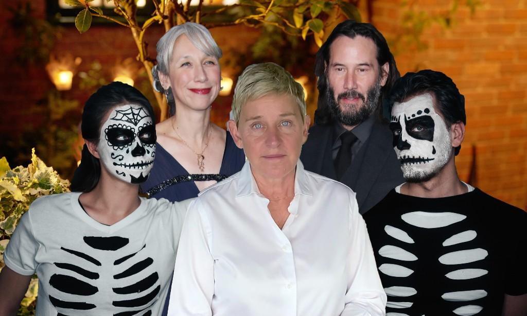 Bad Ellen, Keanu Reeves' girlfriend, skeleton staff: the ultimate 2020 Halloween party looks
