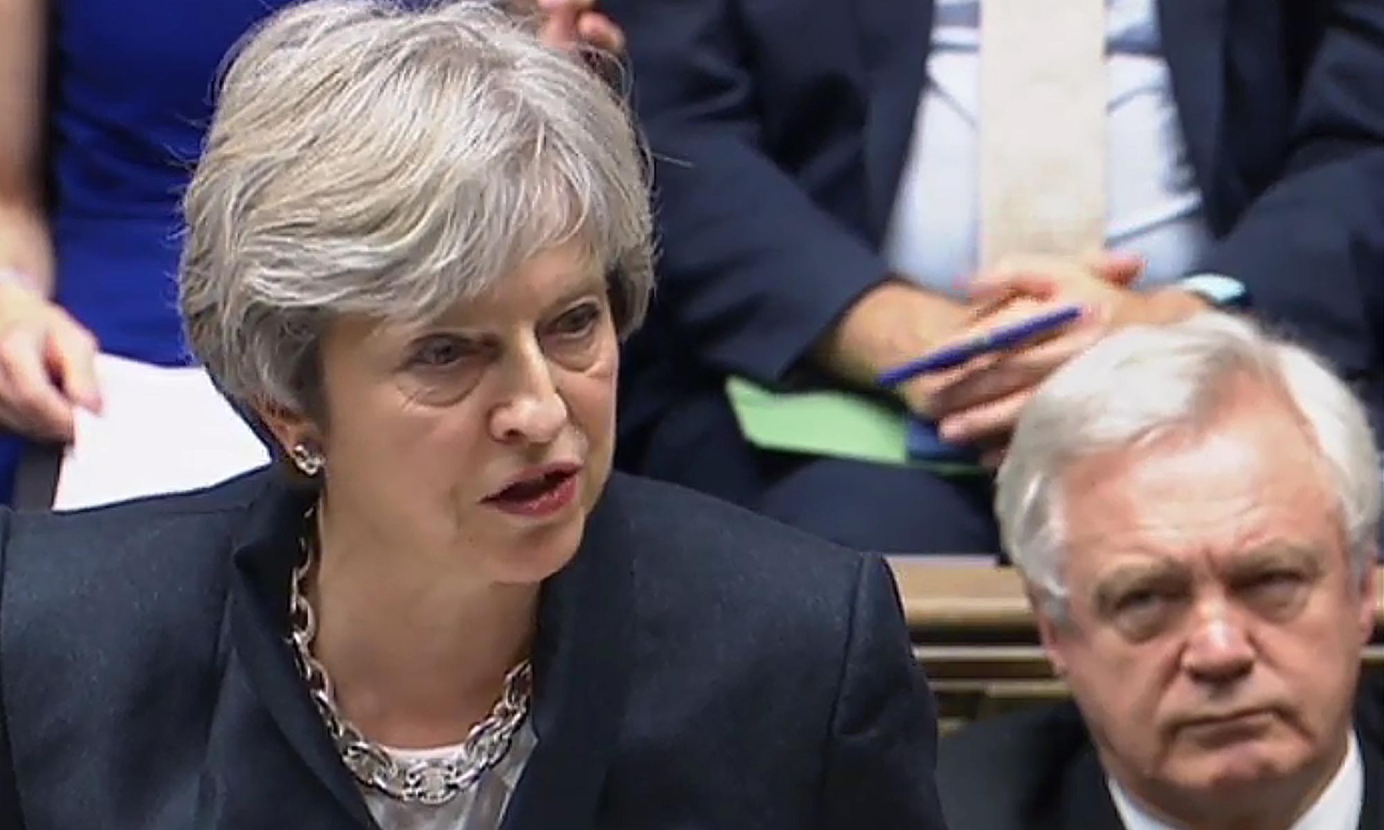 Brexit MPs angry as Theresa May accepts continuing rule of EU court