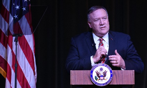 Mary Louise Kelly's interaction with Mike Pompeo was like satire. If only it was