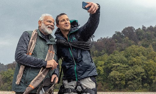 Man vs Wild with Bear Grylls and PM Modi review – the most tasteless TV ever