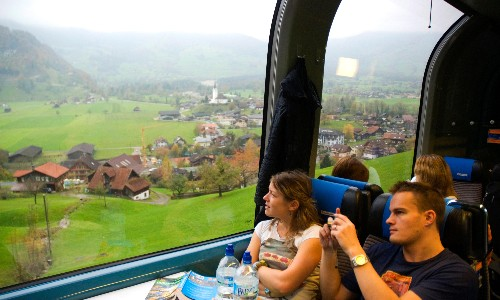 Across the Alps by train: a feast of scenery from Switzerland to Austria