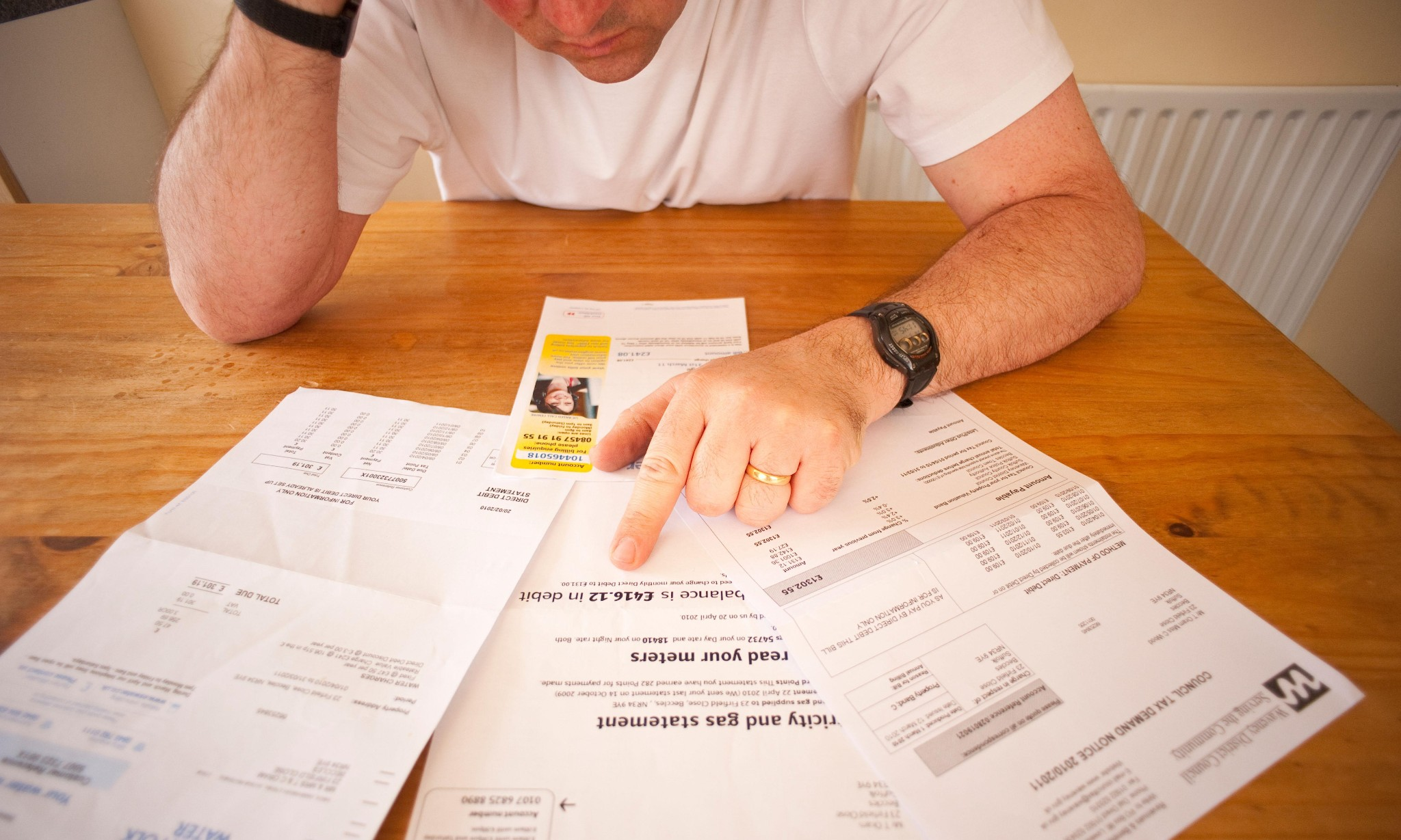 The big danger today is people don't realise they have a debt problem