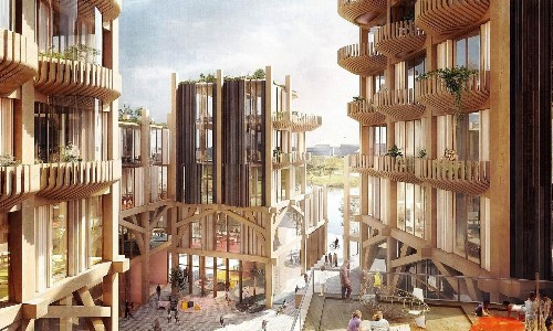 Canadian cities take wooden skyscrapers to new heights
