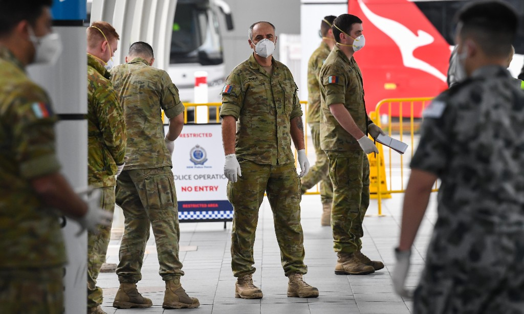 Planes, ships and hotel quarantine: how Australia is tracking where Covid cases come from