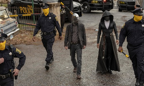 Watchmen review – the perfect superhero story for our tattered times