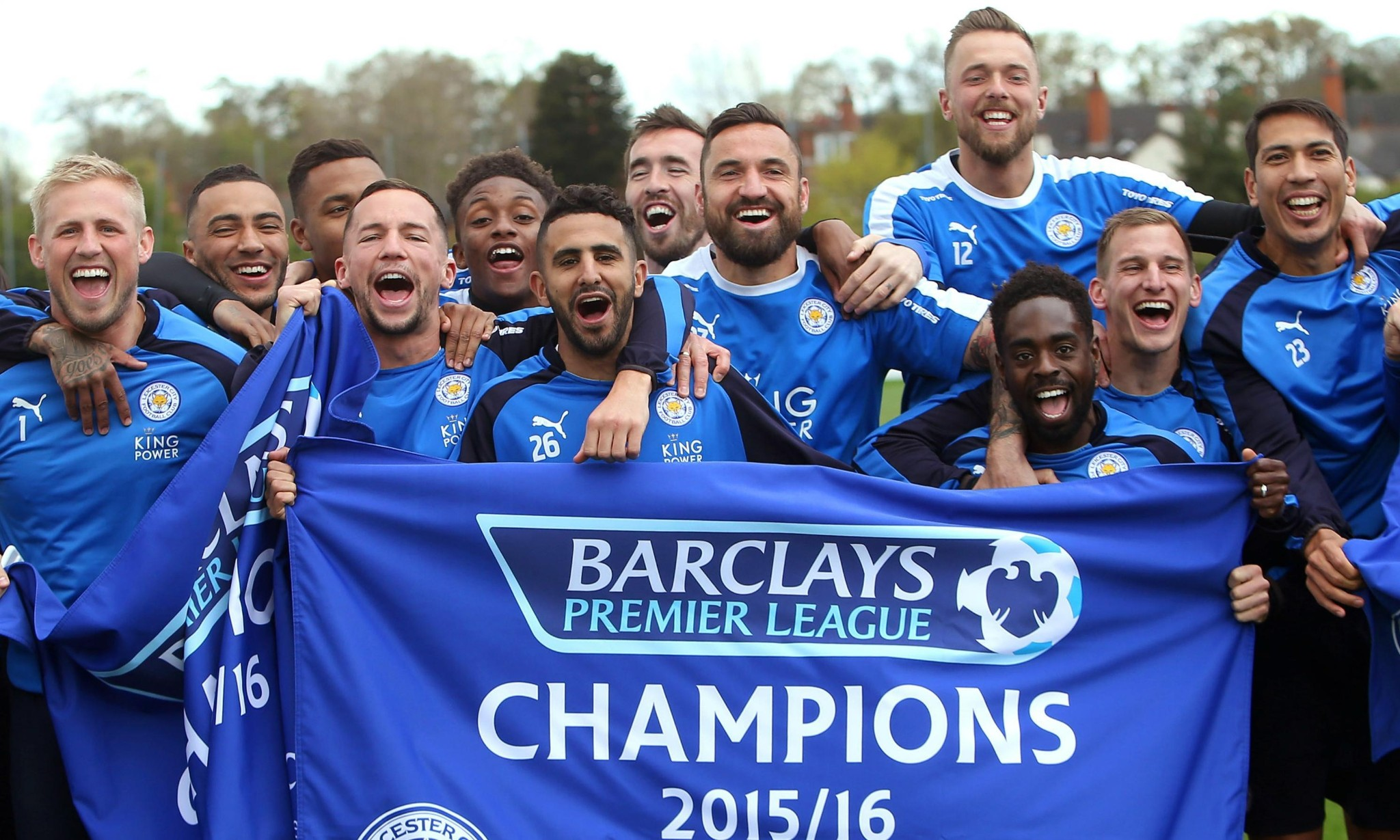 Leicester City's fairytale Premier League win - cover