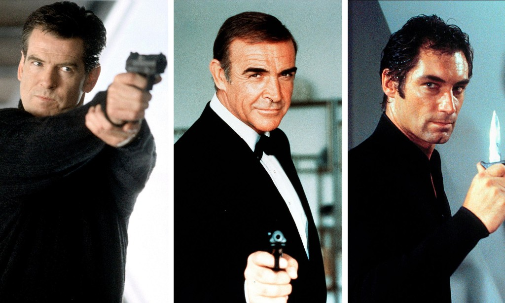Sean Connery voted best Bond, with Timothy Dalton and Pierce Brosnan runners up