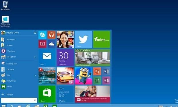 Microsoft - Magazine cover