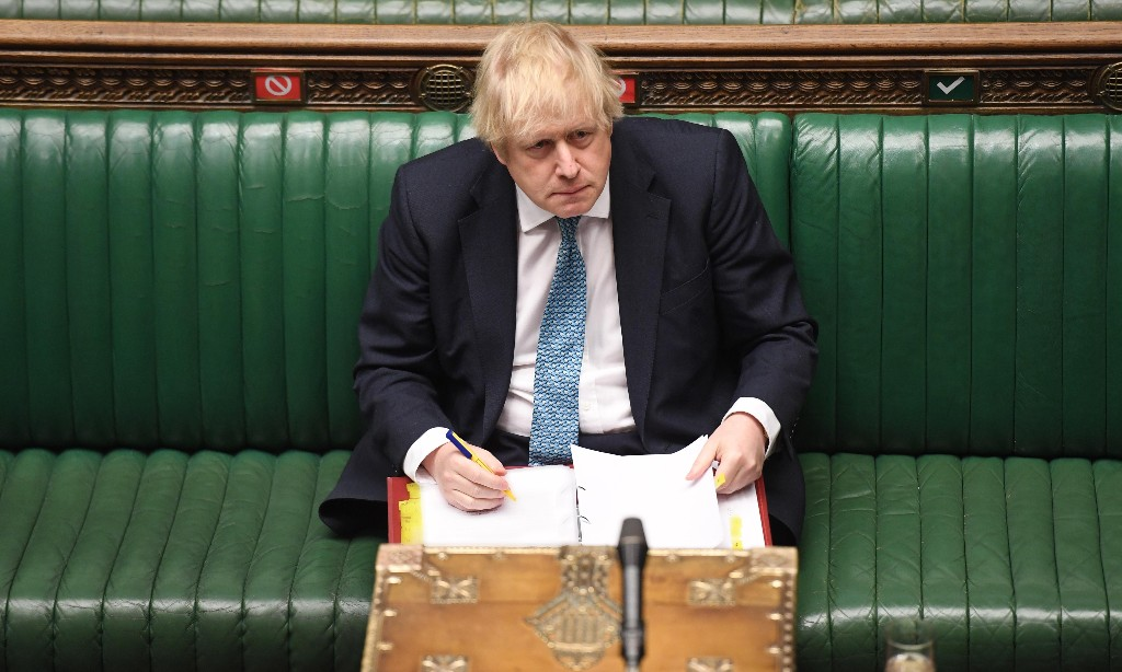 Boris Johnson so craves an audience he would risk MPs' health to have one
